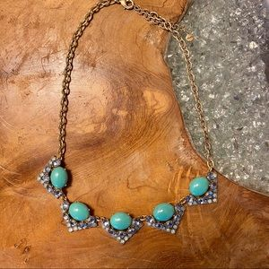 Stella & Dot Turquoise Statement Necklace